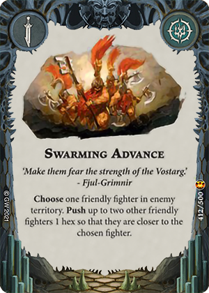 Swarming Advance card image - hover
