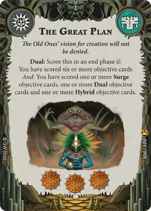 The Great Plan card image - hover
