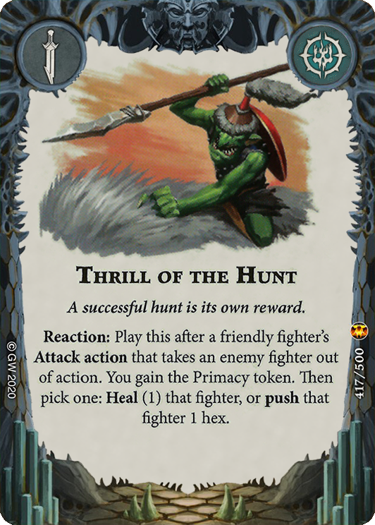 Thrill of the Hunt card image - hover