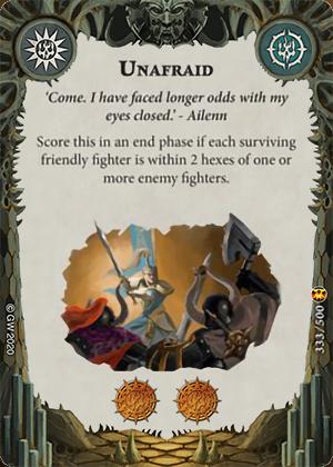 Unafraid card image - hover
