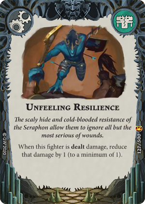 Unfeeling Resilience card image - hover