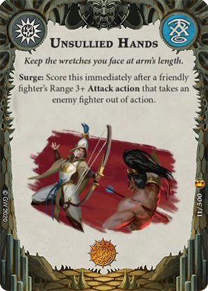 Unsullied Hands card image - hover
