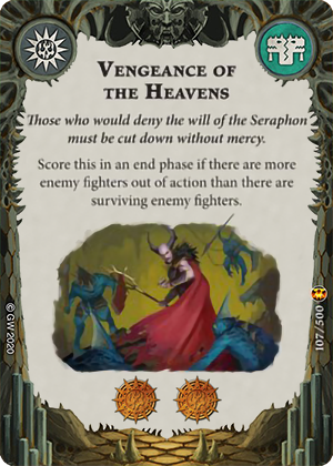 Vengeance of the Heavens card image - hover