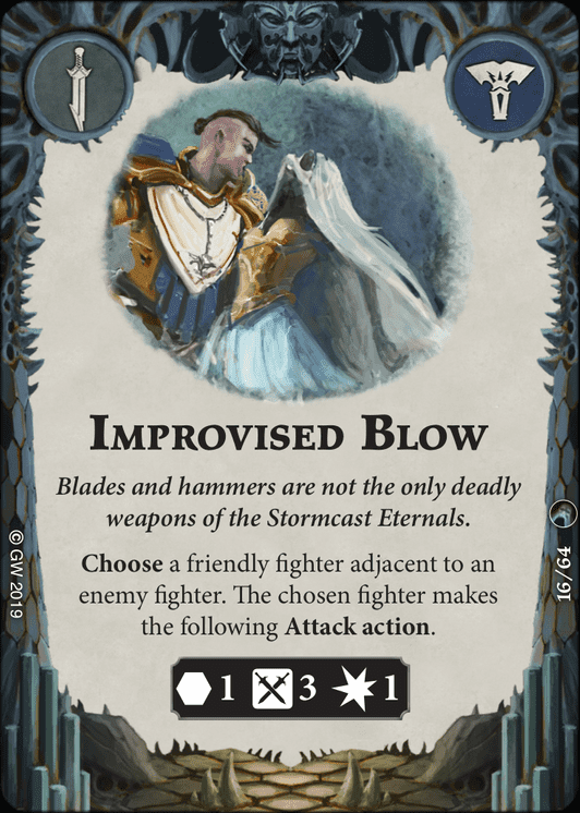 Improvised Blow card image - hover