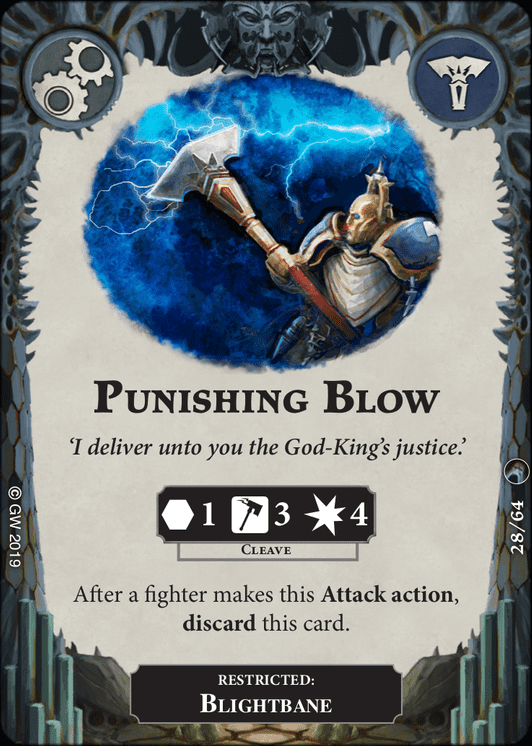 Punishing Blow card image - hover
