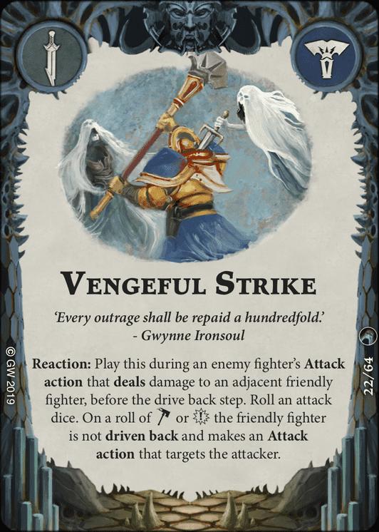 Vengeful Strike card image - hover