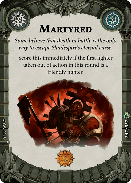 Martyred card image - hover