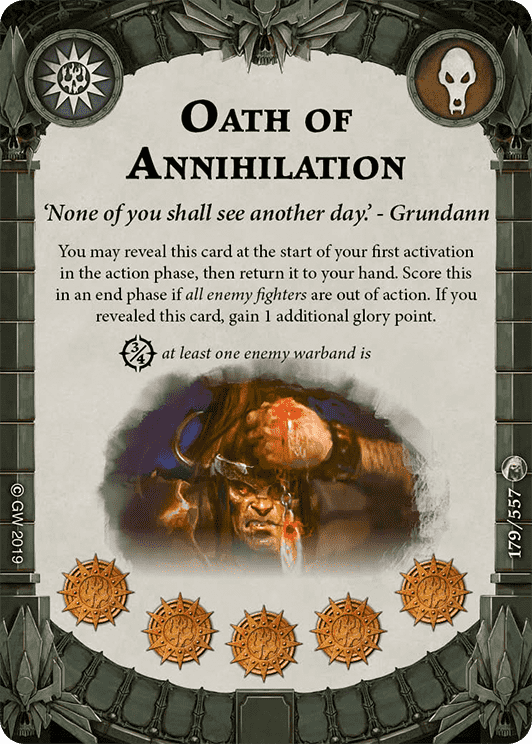 Oath of Annihilation card image - hover