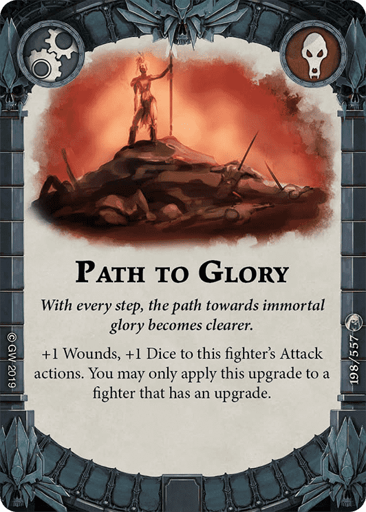 Path to Glory card image - hover