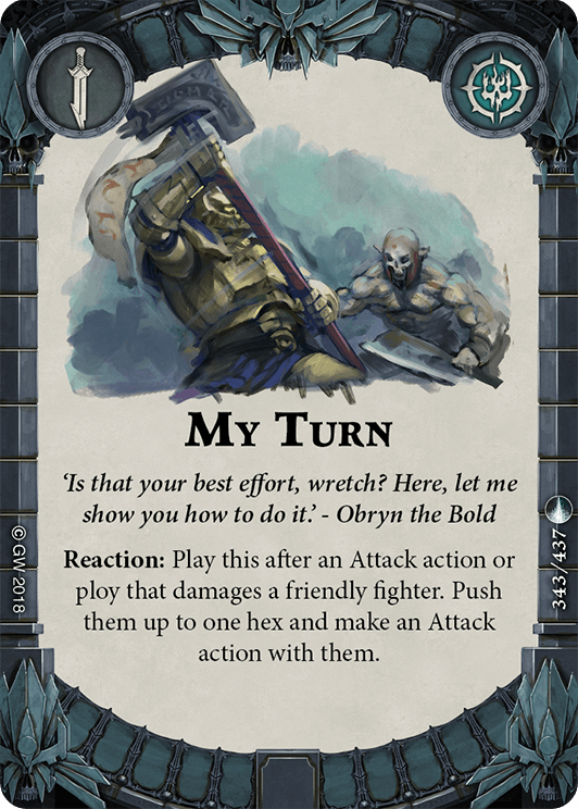 My Turn card image - hover