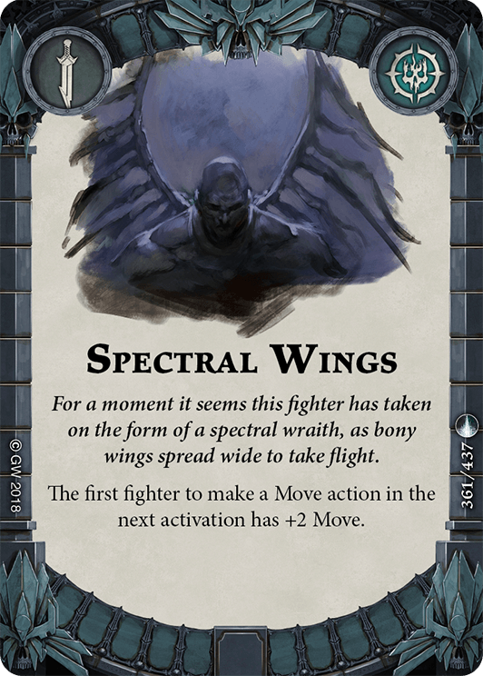 Spectral Wings card image - hover